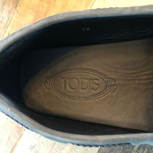 Tod's Shoes - City Gommino Driving Shoes in Suede